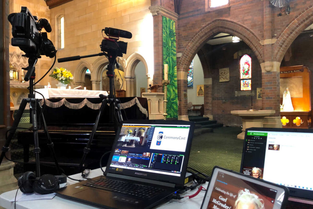 CeremonyCast - Catholic Mass Rose Bay Funeral Webcast Livestreaming Sydney