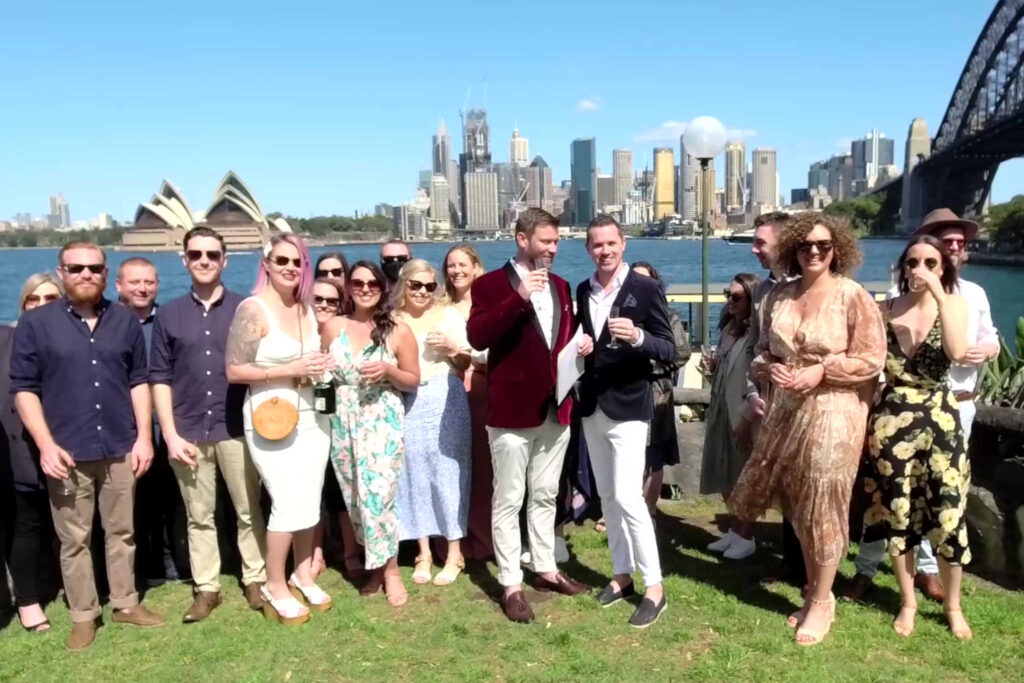 CeremonyCast Copes Lookout Wedding Webcast Live Streaming Stream Sydney