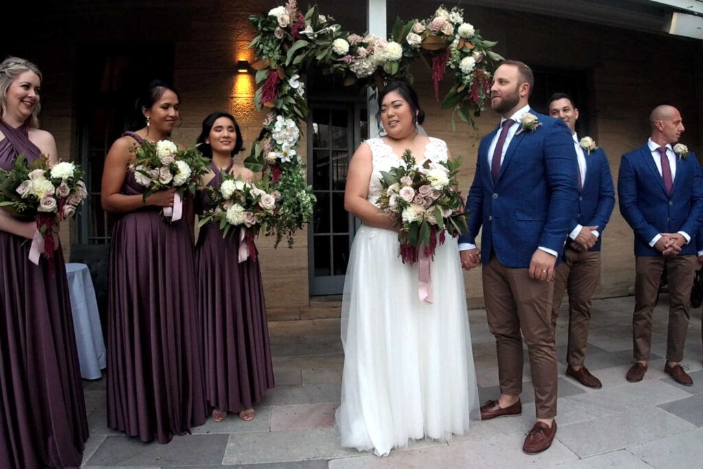 CeremonyCast Gunners Barracks Wedding Webcast Live Streaming Stream Sydney