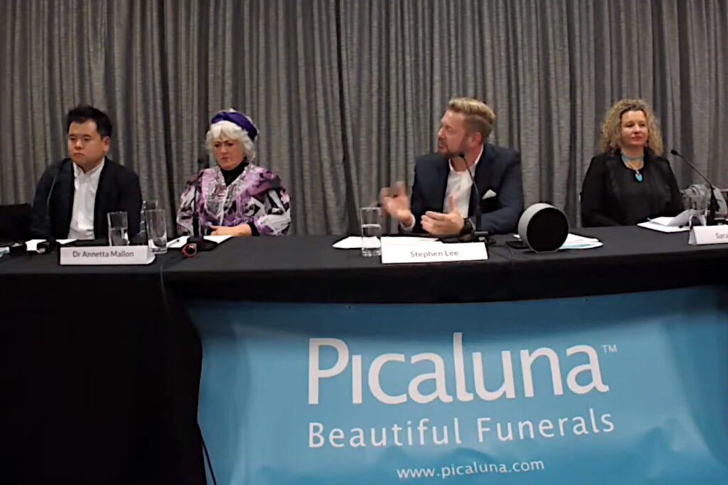 CeremonyCast Funeral Wedding Webcast Live Streaming Stream Sydney Picaluna Panel