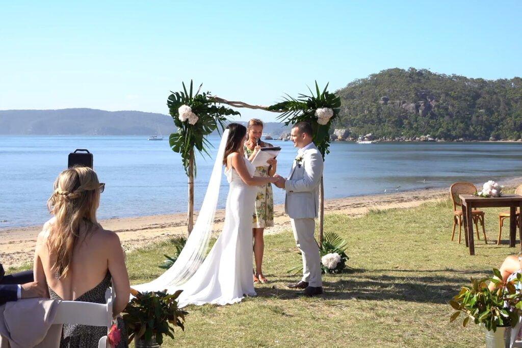 CeremonyCast Palm Beach Wedding Webcast Live Streaming Stream Sydney