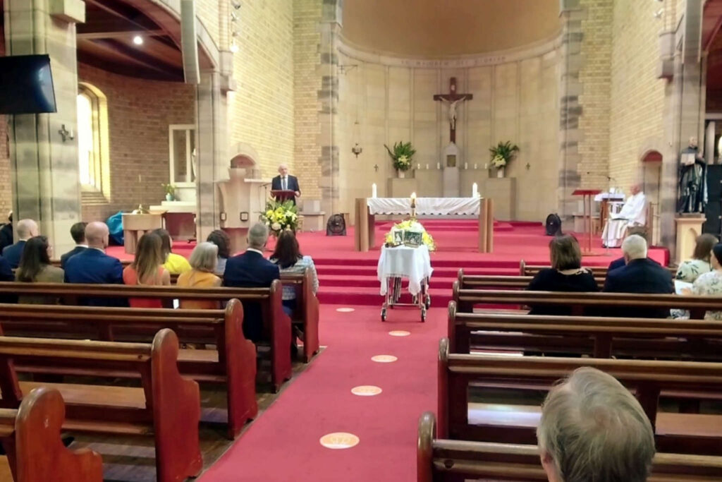 Sydney Catholic Church Funeral Webcast CeremonyCast Live Streaming