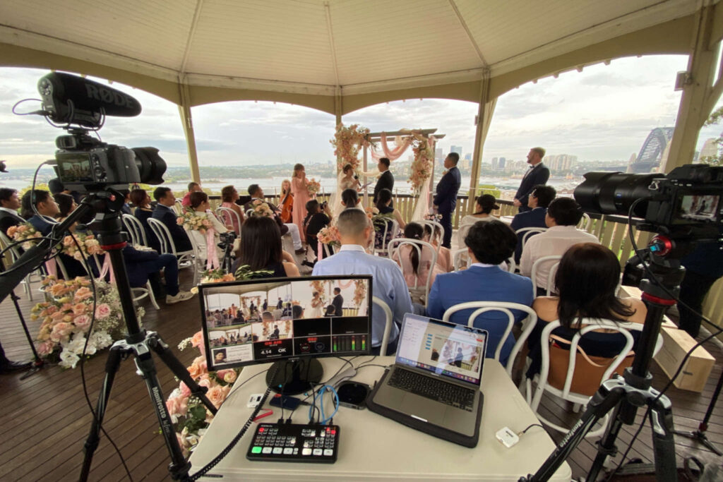 Sydney Observatory Hill Wedding Webcast CeremonyCast Live Streaming